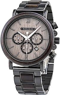 2021 New Men's Wrist Watches Stylish Wood Watch Analog Quartz Casual Wooden Wris
