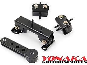 Yonaka Motorsports For 2002-2005 Subaru Impreza WRX STI Motor Engine Mounts Kit w/Pitch Mount