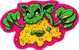 The Cheddar Goblin from Mandy Decal - for Cars, Laptops, and More! - Use Inside or Outside - Sicks to Any Flat Smooth Surface