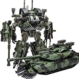 WEIJIANG M04 Brawl Transformer Alloy Oversize SS Leader Camouflage Tank M1A1 Mode KO Action Figure Robot Toys