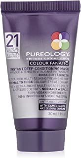Pureology | Colour Fanatic Instant Deep-Conditioning Hair Mask | Restore & Strengthen | Maintain Beautiful Color | Vegan