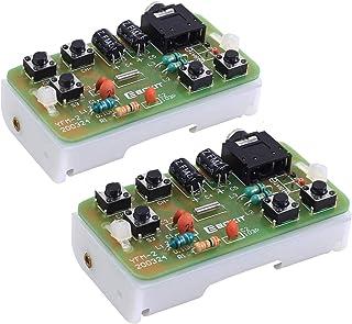 Icstation FM 76MHz-108MHz Stereo FM Radio Receiver Module FM DIY Electronic Soldering Kits Circuit PCB Board Solder Practi...