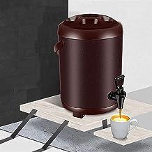 Bdesign Dubbellaags dikke isolatie emmer koffie emmer, commerciële sojamelkleur, geschikt voor huishoudelijke keuken/melk ...