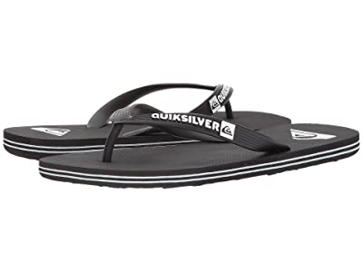 Quiksilver Molokai (Black/Black/White) Men