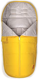 Diono All Weather Footmuff to Protect Your Baby in Car Seats and Strollers, Yellow Sulphur