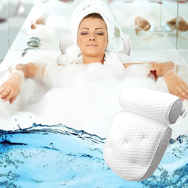 Spa Bath Pillow For Max 53% OFF Max 47% OFF Bathtub – Back Tub Sup Hot Mesh