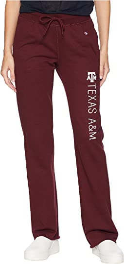 Texas A&M Aggies University Fleece Open Bottom Pants