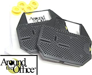 Around The Office Compatible Silver Reed Typewriter Ribbon & Correction Tape for Silver Reed EX 50.This Package Includes 2 Typewriter Ribbons and 2 Lift Off Tapes