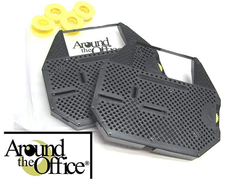 Around The Office Compatible OLIVETTI Typewriter Ribbon & Correction Tape for OLIVETTI ET 101.This Package Includes 2 Typewriter Ribbons and 2 Lift Off Tapes iazdyxui192698