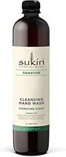 Sukin Cleansing Hand Wash Refill, 1 Litre