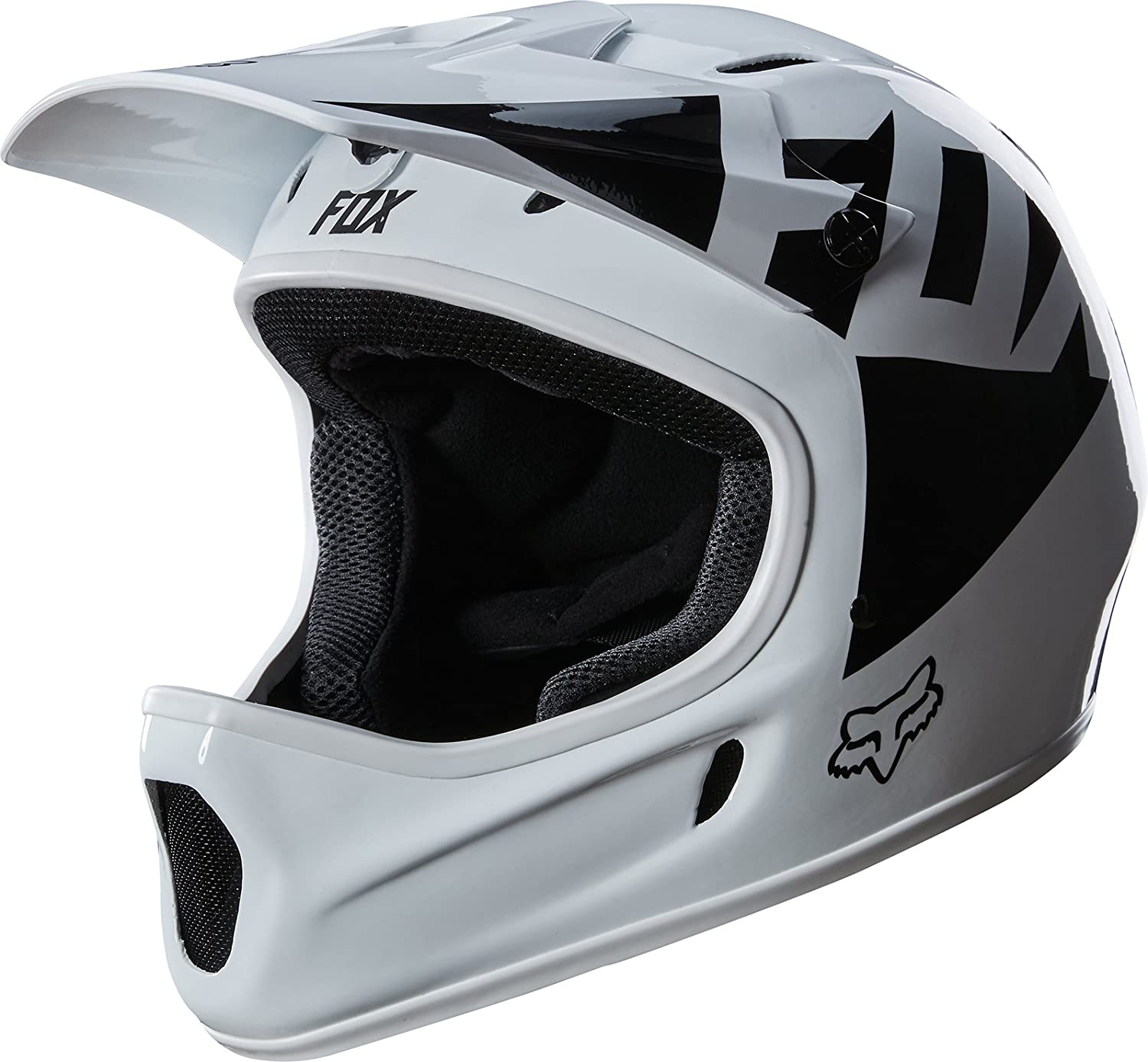 Fox Rampage Landi Bike Helmet White