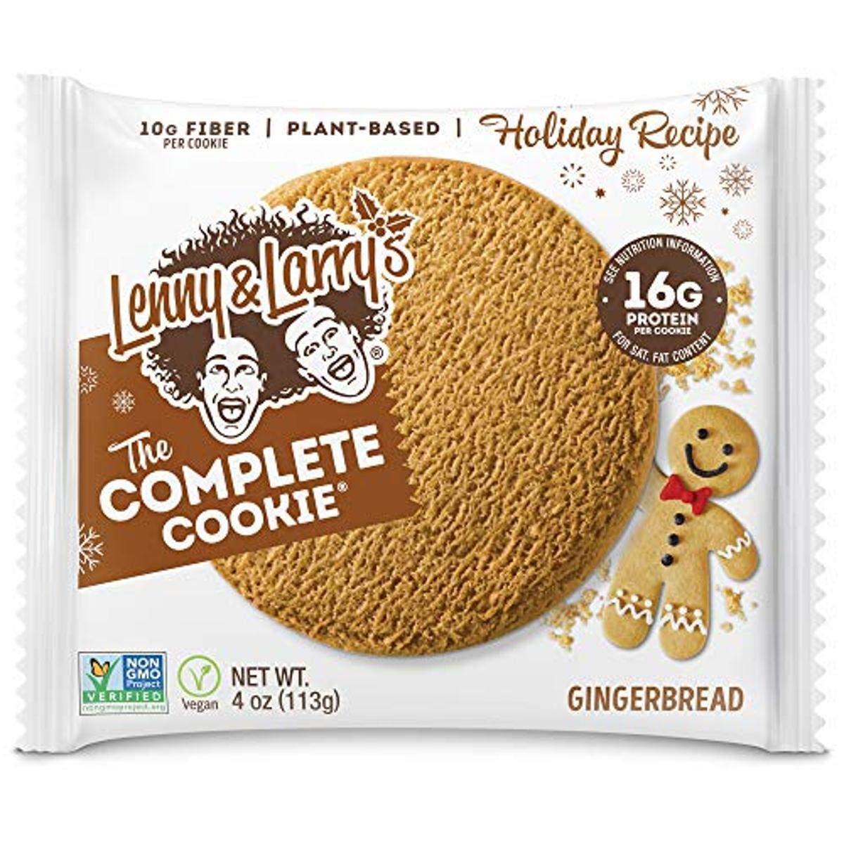 Lenny Larry's Max 58% OFF Super Special SALE held The Complete Cookie 16 Soft Baked Gingerbread