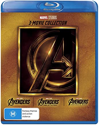 Avengers 3 Film Collection Avengers/Avengers: Age of Ultron/Avengers: Infinity War