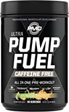 PMD Sports Ultra Pump Fuel Caffeine Free - Pre Workout Drink Mix - Energy, Strength, Endurance, Muscle Pumps And Recovery ...
