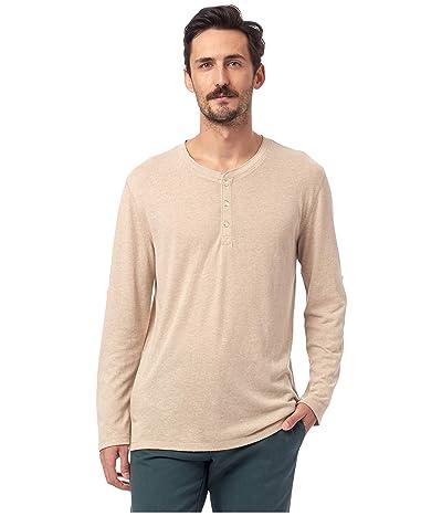 Alternative Long Sleeve Surplus Henley (Eco Driftwood) Clothing