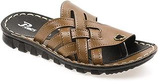 PARAGON P-Toes Kid's Tan Flip-Flops