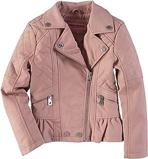 Peplum Faux Leather Moto Jacket