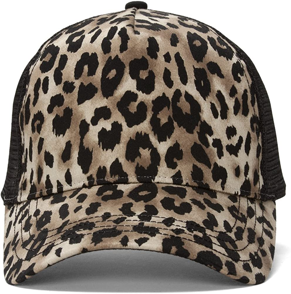 In a popularity TOP HEADWEAR Animal Print 2021 autumn and winter new Cap Fashion Trucker
