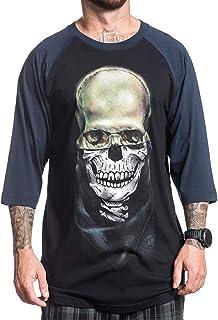 Sullen Men's Eternal Raglan Short Sleeve T Shirt Black/Navy S