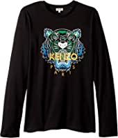 Kenzo Kids - Tiger T-Shirt (Big Kids)