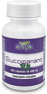 SOTYA - SOTYA Glucomanano 100 cápsulas 600mg