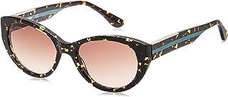 نظارات شمسية لا كولور بلوك بتصميم بيضاوي للنساء من لاكوست، تورتويس