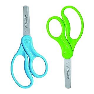 Westcott 5 Hard Handle Kids Blunt Scissors 2Pk (13168)