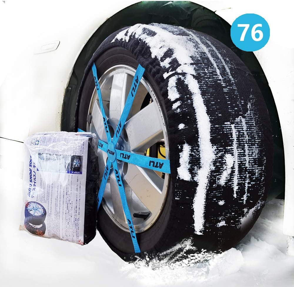 2PC Anti-Skid Safety Ice Mud Tires Snow fo Bargain sale Chains Sock Auto Large special price