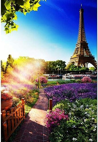 Puzzle House- La Torre Eiffel, Rompecabezas de Madera de Corte Fino, 300 500 1000 1500 2000 2700 Piezas Arte en Madera de Puzzles Fotografía Juego de Juguetes para Adultos y Niños, Pintura Decorativa