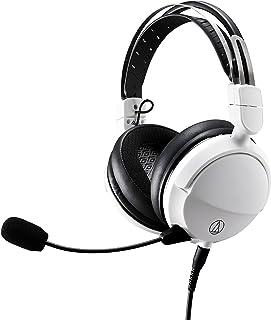 オーディオテクニカ ATH-GL3 ゲーミングヘッドセット/密閉型/PC/PS4/PS5/Switch/Xbox One/取り外しマイク / 3.5mmステレオ4 極ミニプラグ/ATH-GL3 WH