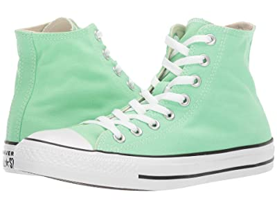 Converse Chuck Taylor All Star Seasonal Color Hi (Light Aphid Green) Lace up casual Shoes