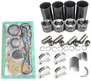 V1902 Engine Rebuild Kit In-direct Injection for Kubota KX151 K101 Excavator Aftermarket Parts