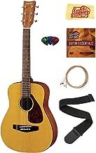 Yamaha JR1 1/2-Scale Mini Acoustic Guitar Bundle with Strings, Picks, Austin Bazaar Instructional DVD, and Polishing Cloth