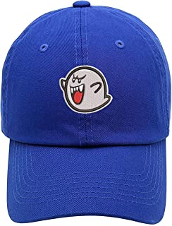TOP LEVEL APPAREL Ghost Boo Embroidered Low Profile Soft Crown Unisex Baseball Dad Hat