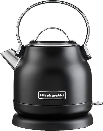 discount KitchenAid wholesale 1.25-Liter Electric Kettle, online Black Matte sale