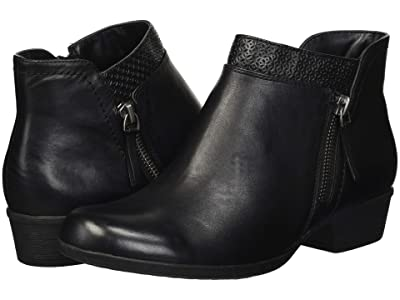 Rockport Carly Bootie (Black) Women