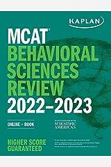 MCAT Behavioral Sciences Review 2022-2023: Online + Book (Kaplan Test Prep) Kindle Edition
