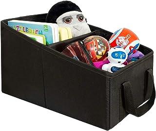 LIONSTRONG Organizador maletero coche - compartimentos de almacenamiento para juguetes - organizador coche asiento para adultos y niños