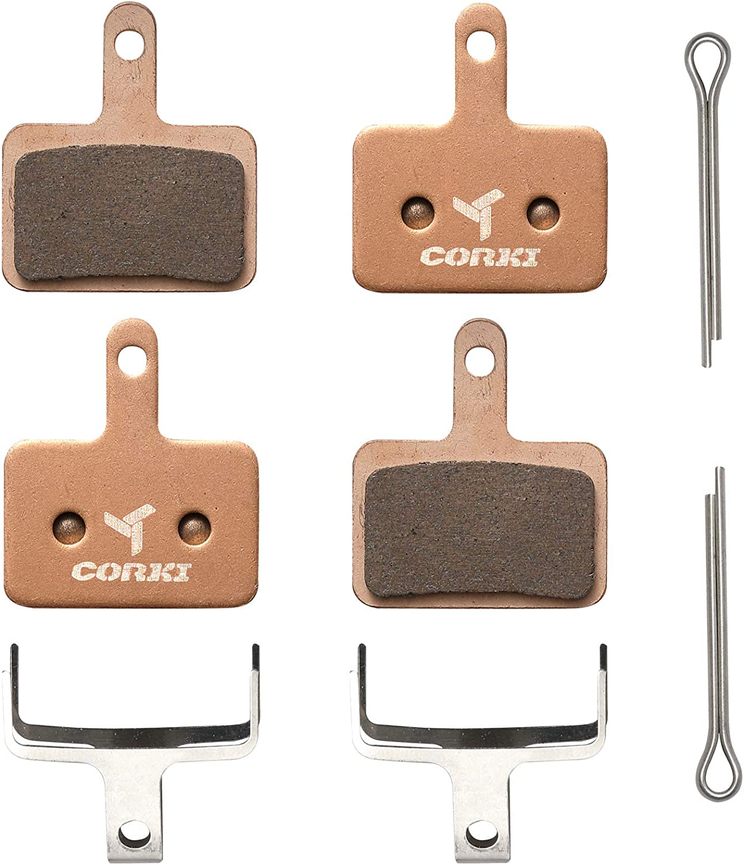 Details about  /1 Pair MTB Mountain Bike Metal Disc Brake Pads for Shimano M446 355 395 BB5