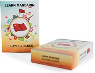 Learn Mandarin While Playing Your Favorite Card Game - Works for beginners too - Fun, Visual Mandarin Language Flash Cards with Phonetic Spelling - Learn New Vocabulary & Numbers Easily