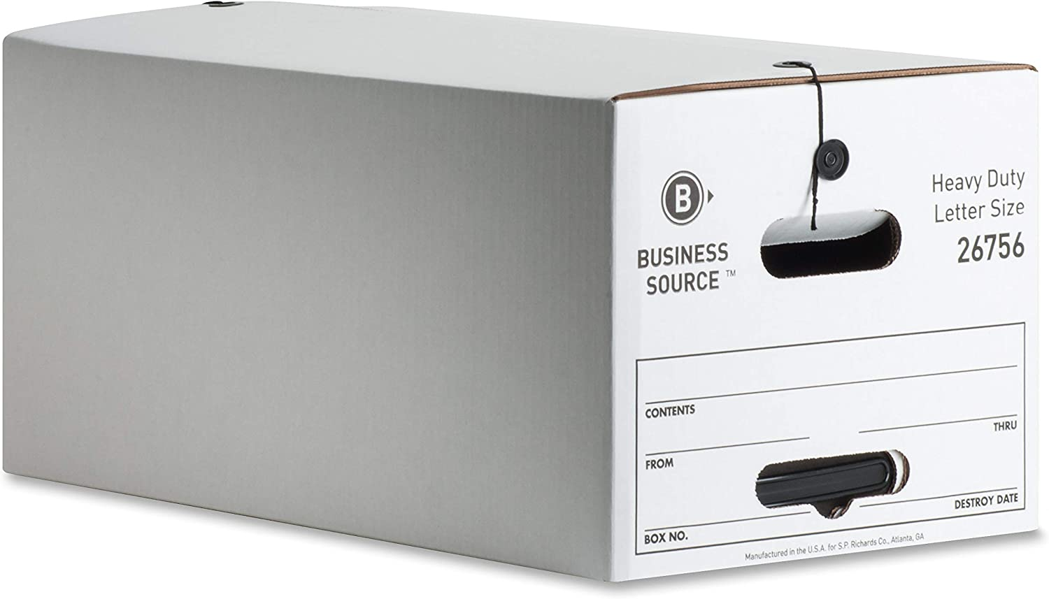 Business Source Med-Duty String Button Storage Box
