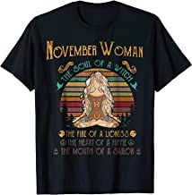Best november woman the soul of a witch Reviews