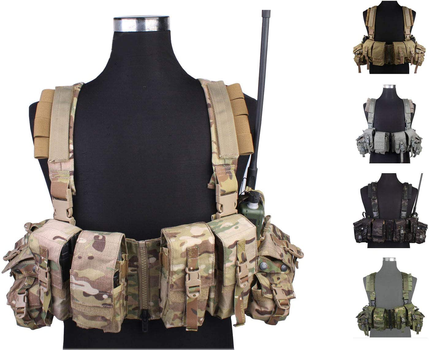 Elite Tribe Airsoft Military Molle Max 71% OFF Combat 1961 Tactical Vest Ranking TOP17 LBT