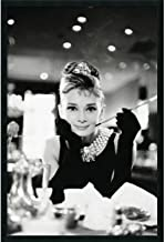 Audrey Hepburn Breakfast at Tiffanys poster