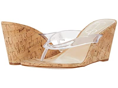 Jessica Simpson Coyrie 2 (Clear) Women