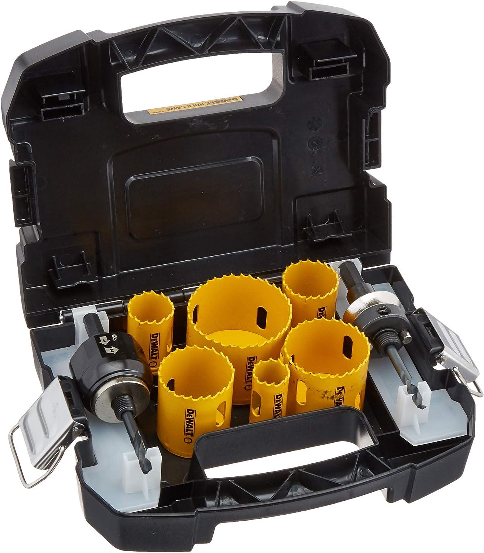 DEWALT D180002 Hole Saw Kit, Standard Electrician's Set, Bi-Metal