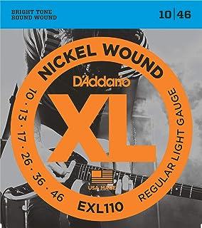 DAddario EXL110 Nickel Wound Regular Light Gauge 10 to 46