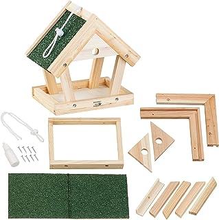 Royal Gardineer - Comedero para pájaros (madera auténtica, para colgar, 13 piezas)