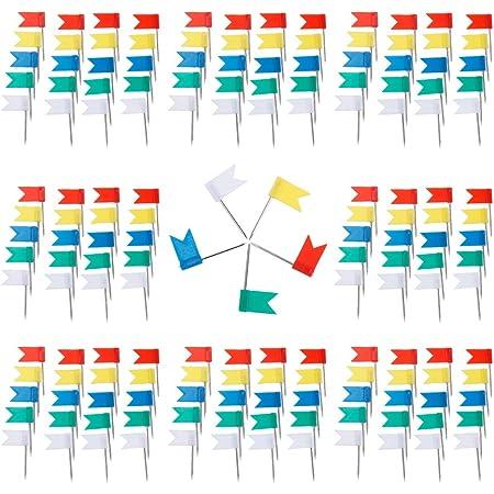 Kurz Stecknadeln Glas Kopf mit Stahl Punkt f/ür Markieren von Orten Pinnwand 1//8 Zoll 500 St/ück Karte Nagel Pinnadeln Weltkarte Bunt Map Push Pins