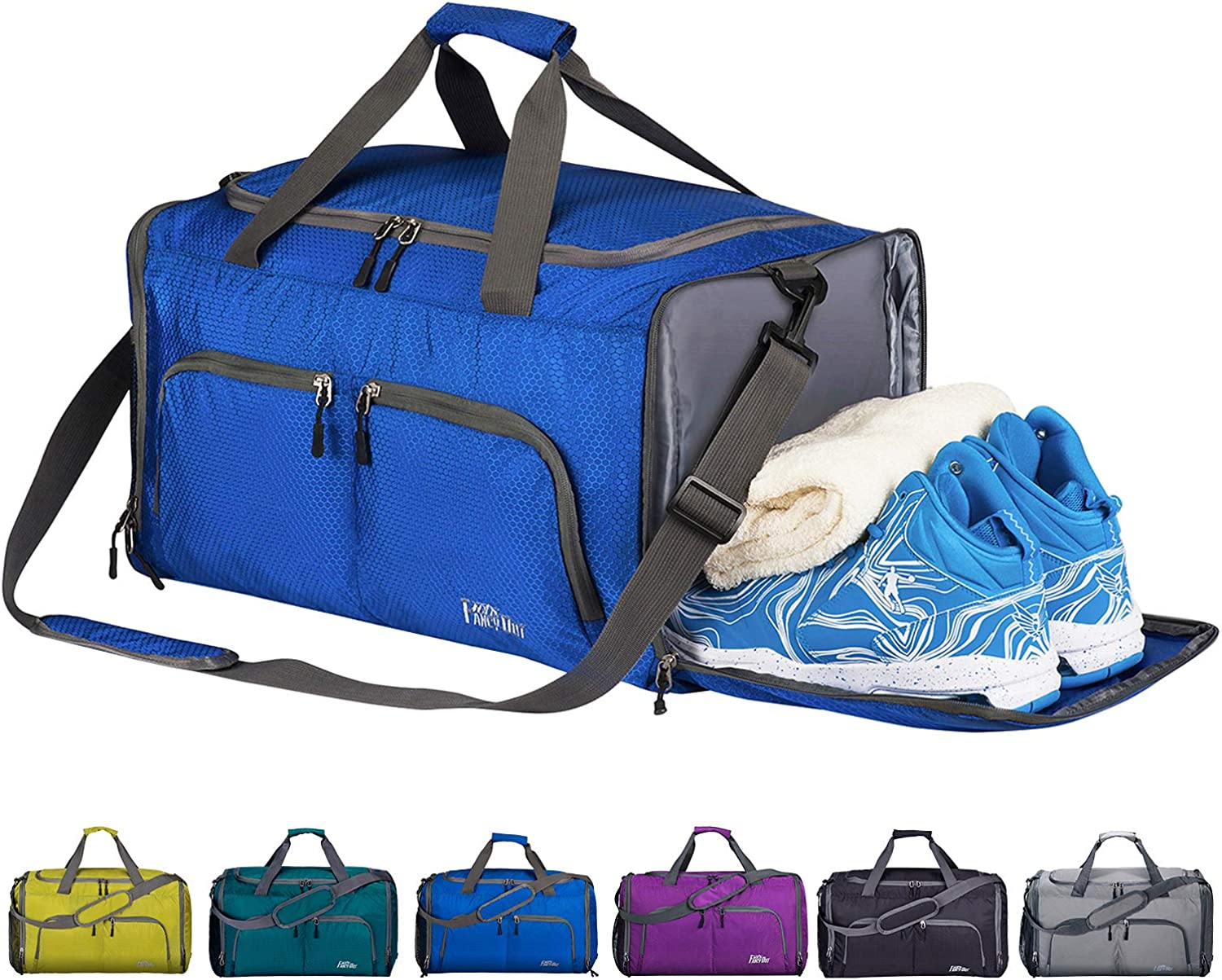 FANCYOUT Sports Gym Bag Max 90% OFF with Wet 2021 spring and summer new Tra Compartment Shoes Pocket